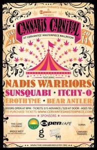 Cannabis Carnival - Poster