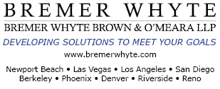 Bremer Whyte Brown & O'Meara LLP