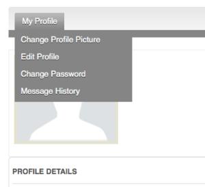 My Profile Screenshot