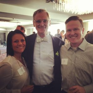 Jaime and Shea Conley with Congressman Earl Blumenauer (D-OR)