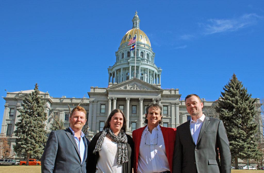 NGT team: Scott Field, Shandra Carlton, Bruce Granger, and Bill Campbell