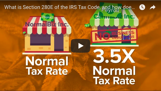 VIDEO: How Section 280E of the IRS Tax Code Burdens the Cannabis Industry