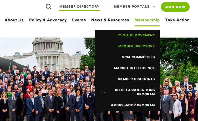 NCIA Launches New Website With Enhanced Member Directory
