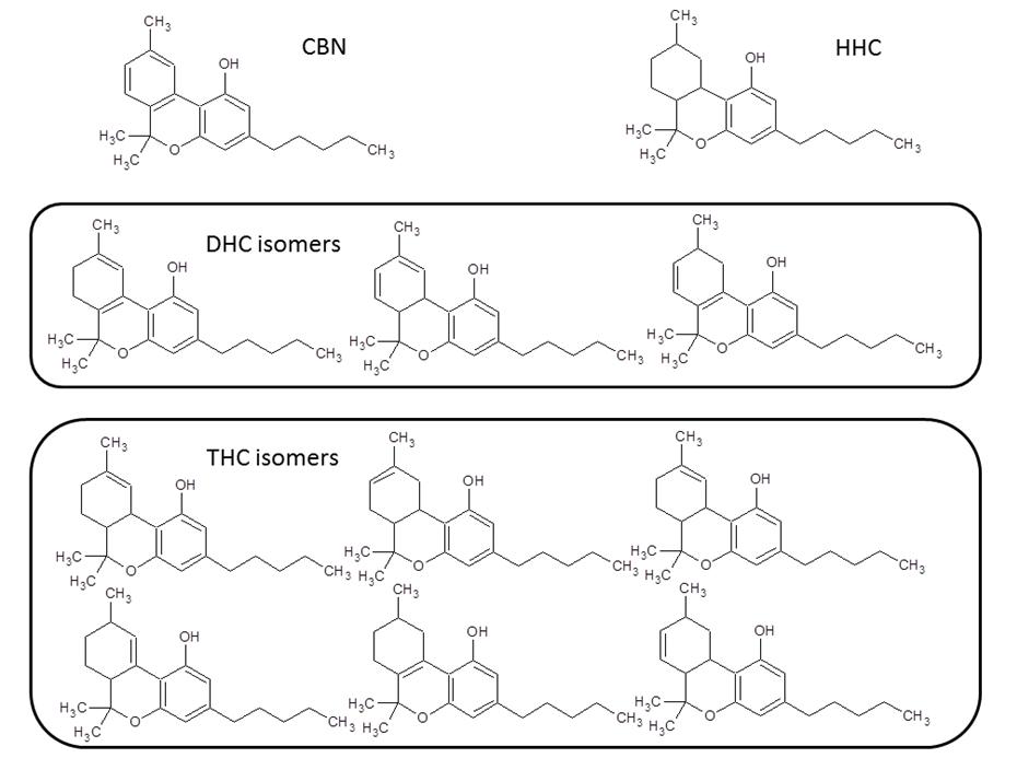hydrierte Cannabinoide, HHC Cannabinoide, HHC THC, hhc thc Effekte