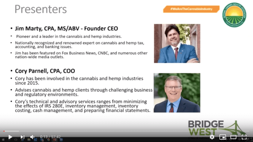 Webinar Recording: 280E Mitigation – What You Need To Know