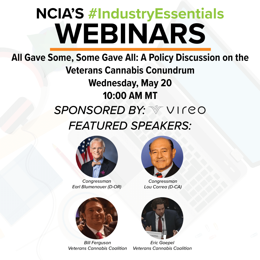 Webinar Recording: All Gave Some, Some Gave All – A Policy Discussion on the Veterans Cannabis Conundrum