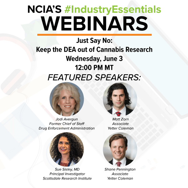 Webinar: Policy Council Conversations: Just Say No – Keep the DEA out of Cannabis Research