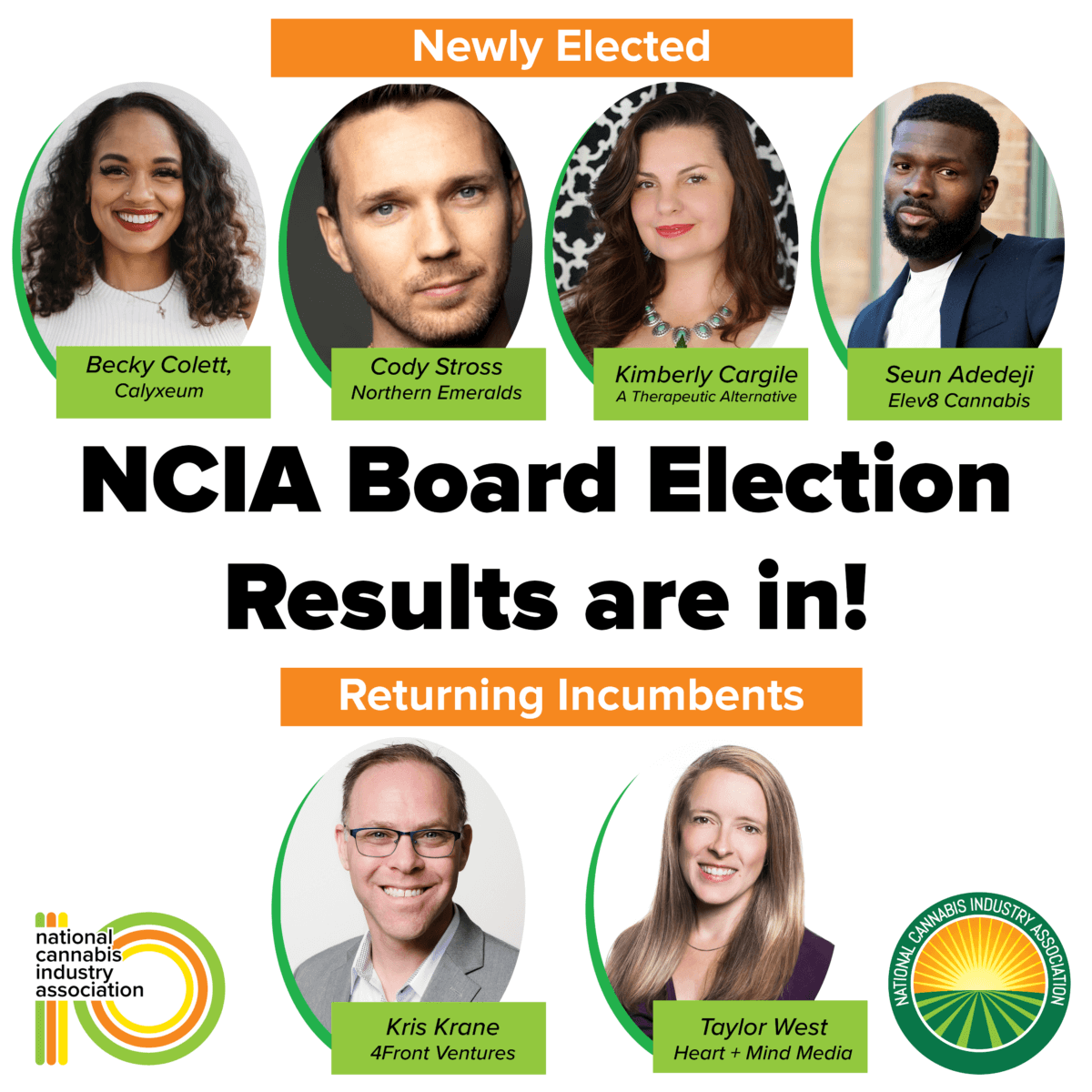 Announcing NCIA's Incoming Board Members