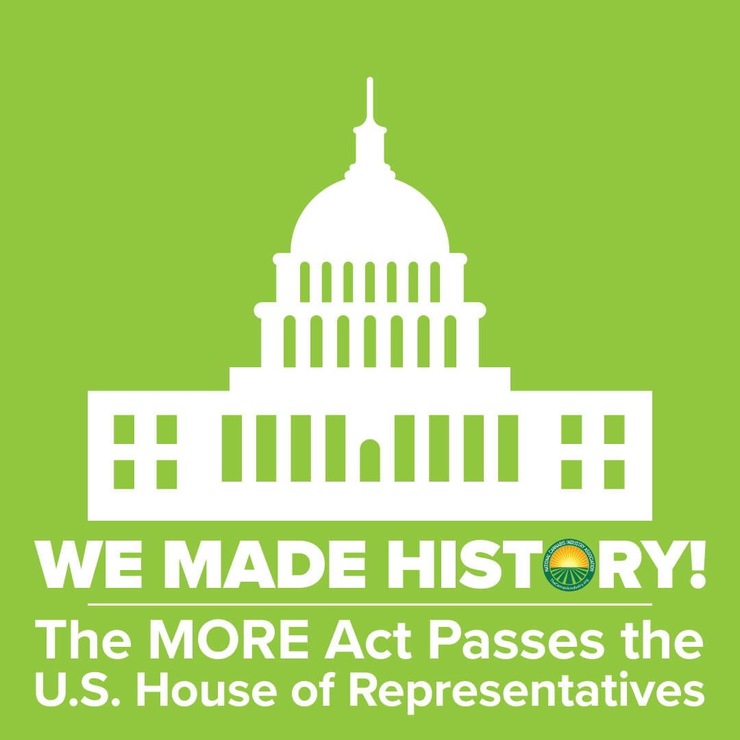 Historic Victory in the House: The MORE Act