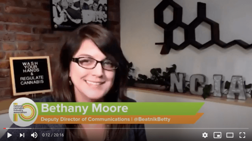 Video: NCIA Today – The MORE Act, 2020 Election, Board of Directors, and More!
