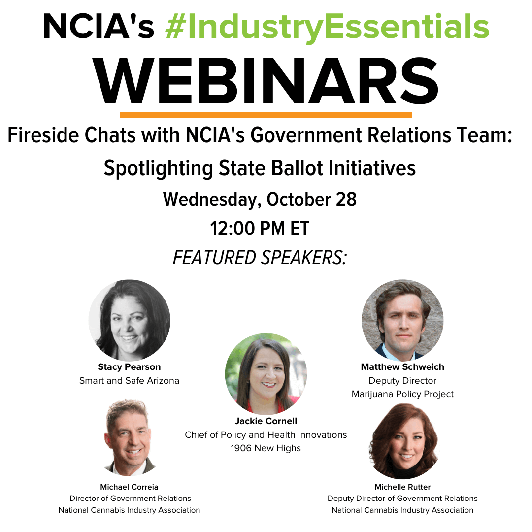 #IndustryEssentials Webinar Recording – Fireside Chats with NCIA's Government Relations Team: Spotlighting State Ballot Initiatives