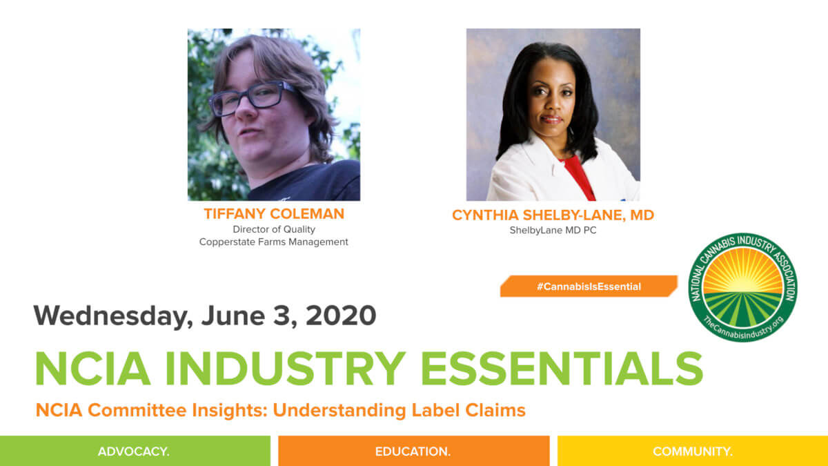 #IndustryEssentials Webinar Recording – NCIA Committee Insights: Understanding Label Claims