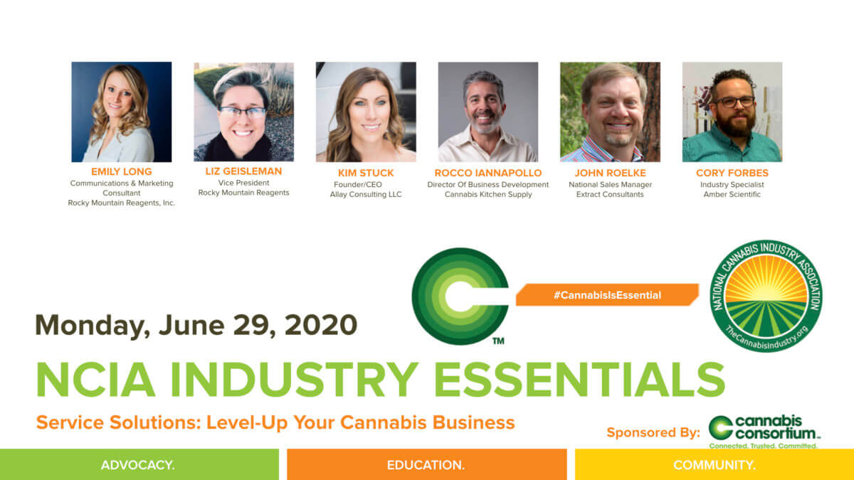 #IndustryEssentials Webinar Recording – Service Solutions: Level-Up Your Cannabis Business