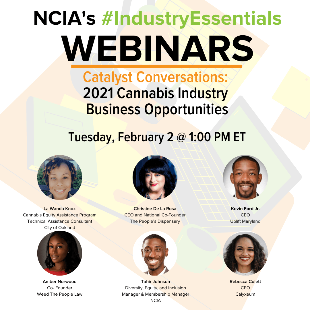 #IndustryEssentials Recording – Catalyst Conversations | 2.2.21 | 2021 Cannabis Industry Business Opportunities