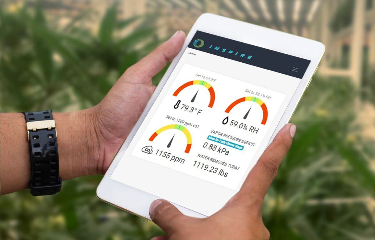 InSpire Launches Cloud-Based Grow Room Controls and Automation for Commercial Cannabis Cultivators
