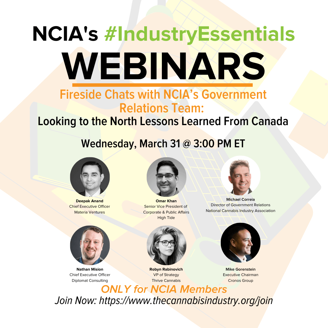 Fireside Chats w/ NCIA's Gov. Relations Team | 3.31.21 | Lessons Learned From Canada