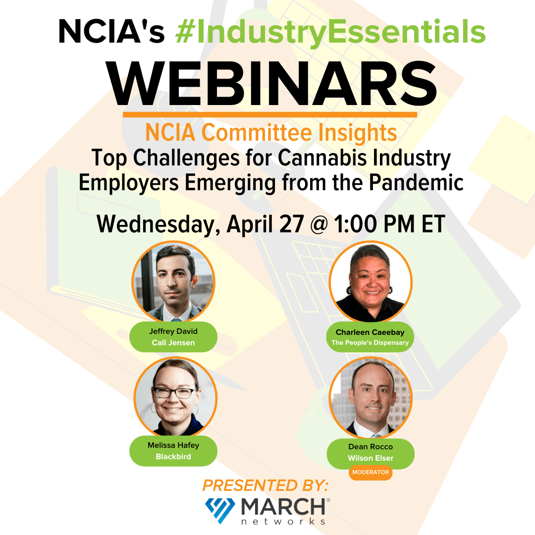 Protected: Committee Insights | 4.27.21 | Top Challenges for Cannabis Industry Employers Emerging from the Pandemic