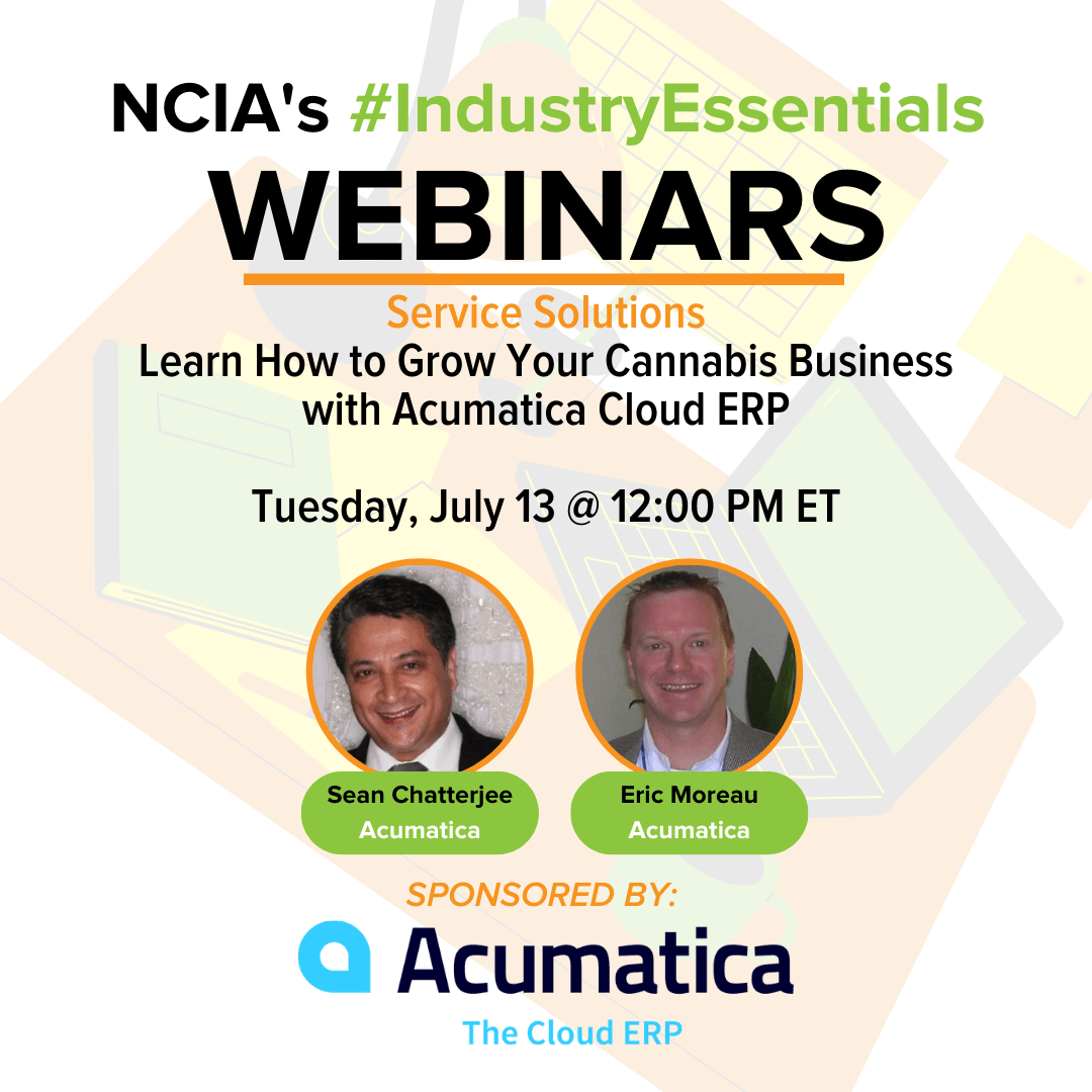 Service Solutions | 7.13.21 | Learn How to Grow Your Cannabis Business with Acumatica Cloud ERP