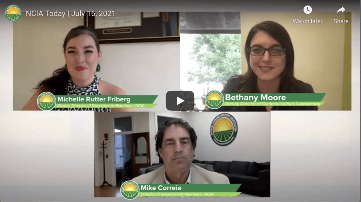 Video: NCIA Today – July 16, 2021