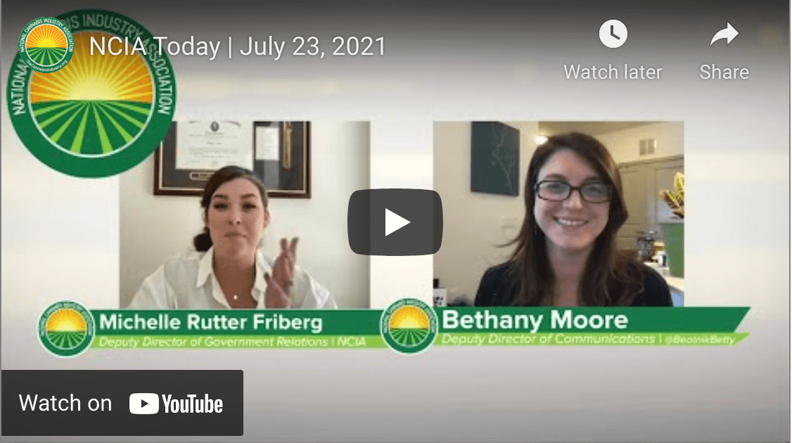 Video: NCIA Today – July 23, 2021